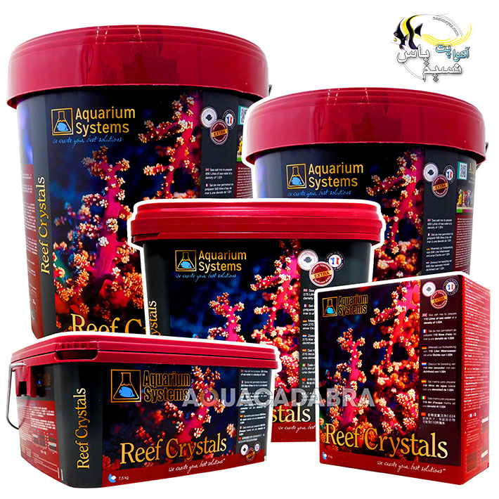 aquarium systems reef crystals salt 4kg
